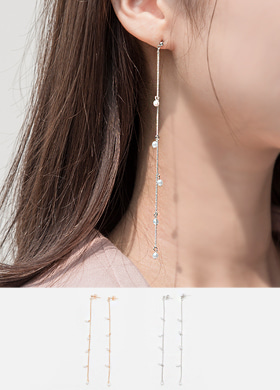 록시 드롭 earring (2color)